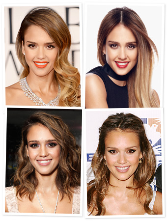 Jessica Alba Hair