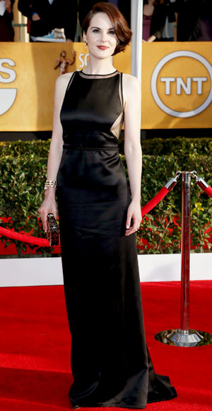 Michelle Dockery at SAG 2012