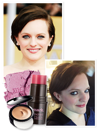 Elisabeth Moss SAG Awards Makeup