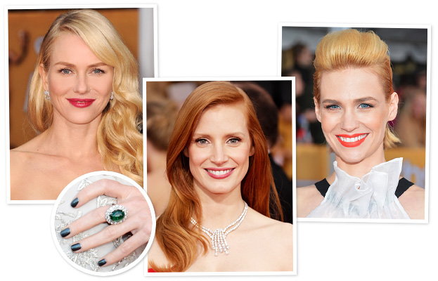 SAG Awards Beauty Looks