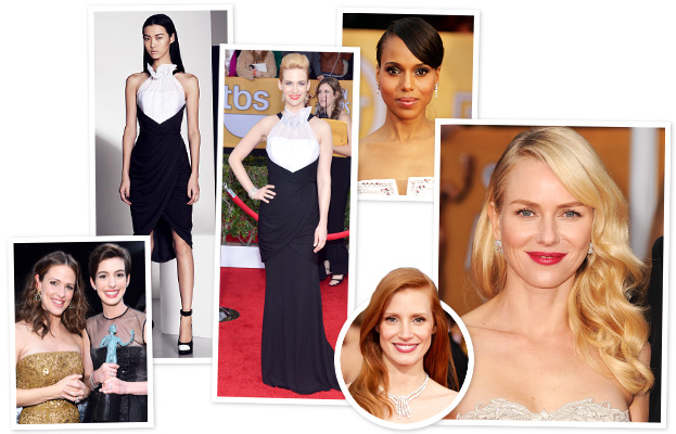SAG Awards, January Jones, Kerry Washington