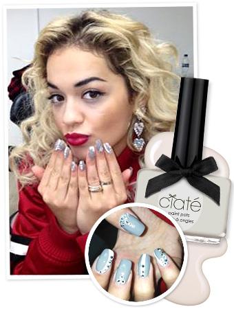 Rita Ora Manicure - Ciate Nail Polish