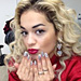 Found It! Rita Ora's Gray Nail Polish