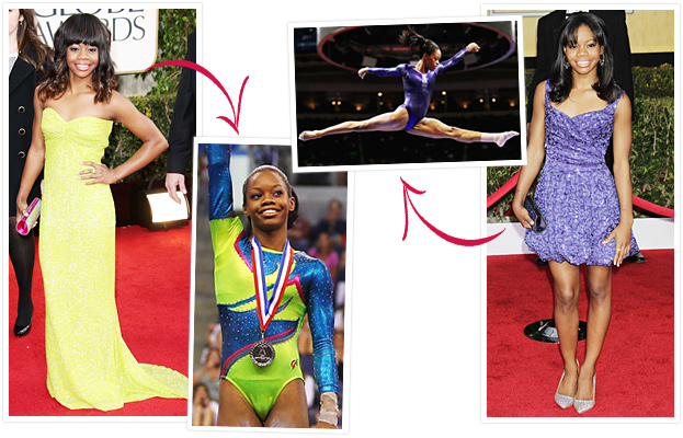 Gabby Douglas Red Carpet