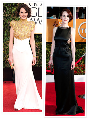 Michelle Dockery SAG Awards Dress