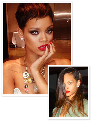 New Hairstyle Alert: Rihanna's Red Pixie : InStyle.com What's Right