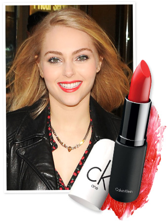 AnnaSophia Robb Lipstick - The Carrie Diaries