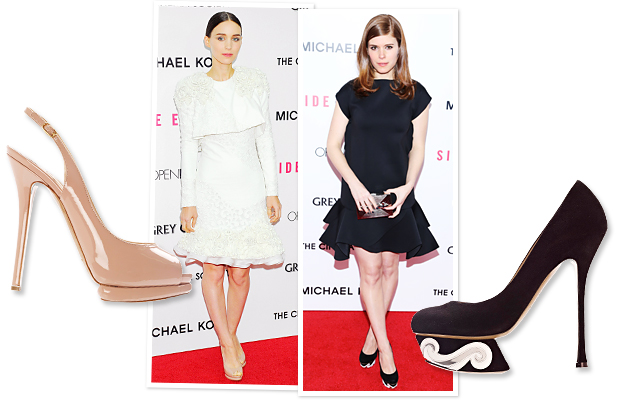 Rooney Mara, Kate Mara, Nichoas Kirkwood
