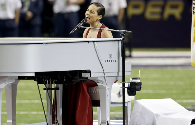 Super Bowl Alicia Keys