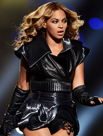 Beyonce Hair Super Bowl