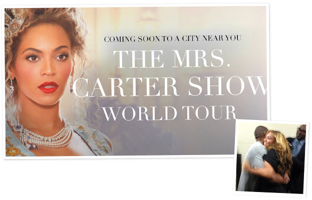 Beyonce World Tour Mrs. Carter Show