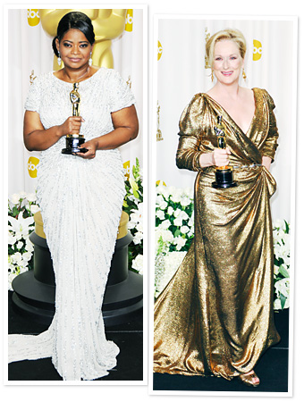 Octavia Spencer, Meryl Streep