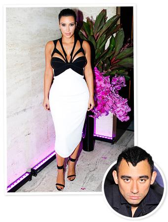 Kim Kardashian Nicola Formichetti