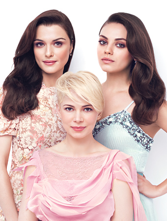 The Great and Powerful Oz - Mila Kunis - Michelle Williams - Hair