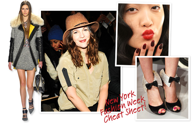 Drew Barrymore, Rebecca Minkoff, Kate Spade