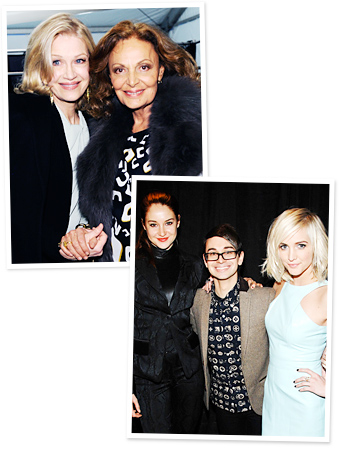 Diane Sawyer, Diane von Furstenberg, Shailene Woodley, Christian Siriano