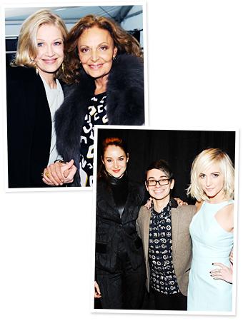 Diane Sawyer, Diane von Furstenberg, Shailene Woodley, Christian Siriano