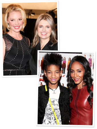 Katherine Heigl, Willow Smith, Jada Pinkett Smith