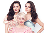 The Great and Powerful Oz - InStyle March Cover - Mila Kunis - Michelle Williams - Rachel Weisz