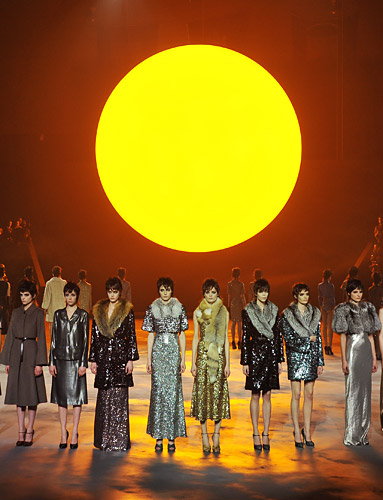 Marc Jacobs fall 2013 finale