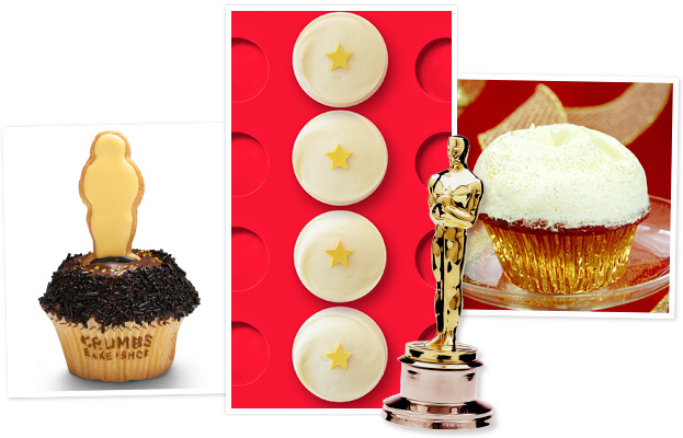 Oscar cupcakes