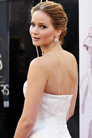 Jennifer Lawrence Oscars Jewelry