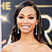 Oscars 2013 Exclusive: What It Takes to Prep Zoe Saldana&#039;s Beautiful Makeup Look