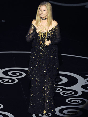 Barbra Streisand Oscars
