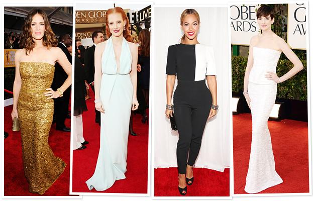 Jennifer Garner, Jessica Chastain, Beyonce, Anne Hathaway