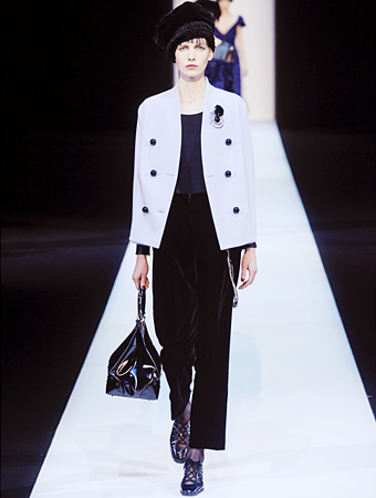 Giorgio Armani fall 2013