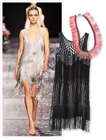 how to wear fringe