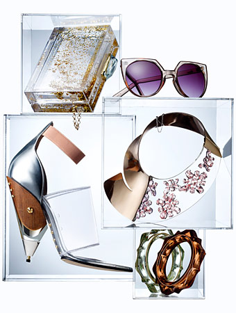 clear accessories