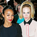 Stars at Paris Fashion Week: Zoe Saldana, January Jones, Renee Zellweger, and More