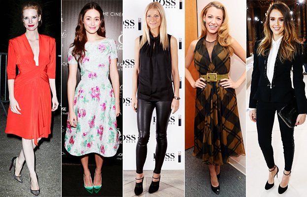 Jessica Chastain, Emmy Rossum, Gwyneth Paltrow, Blake Lively, Jessica Alba