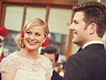 Adam Scott on Amy Poehler&#039;s Parks and Recreation Wedding Dress: &quot;There Wasn&#039;t a Dry Eye in the House&quot;