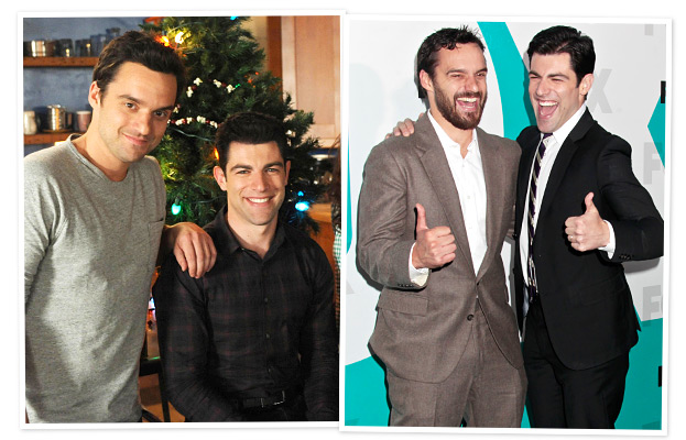 New Girl Max Greenfield Jake Johnson