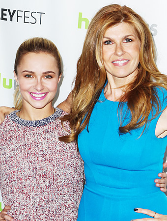 Connie Britton and Hayden Panettiere