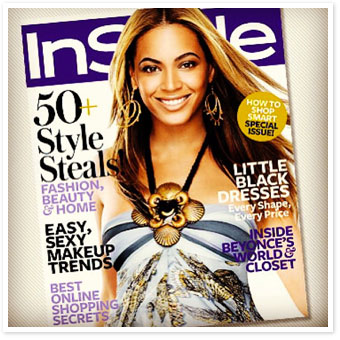 Beyonce InStyle November 2008