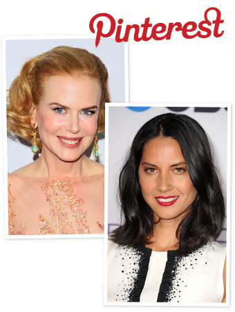 Pinterest, Olivia Munn, Nicole Kidman