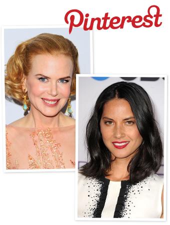 Pinterest, Olivia Munn, Nicole Kidman