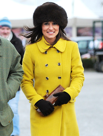 Pippa Middleton Katherine Hooker coat