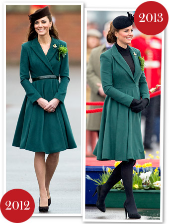 Kate Middleton St. Patrick&#039;s Day