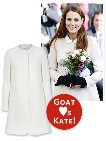 Kate Middleton Goat coat