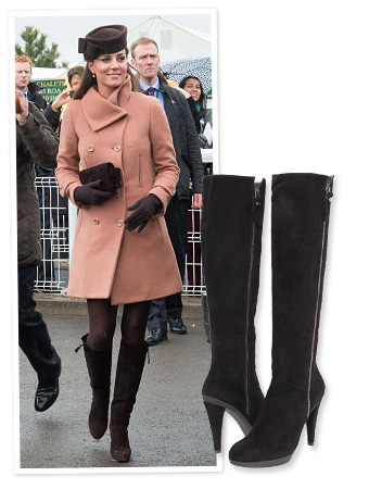 Kate Middleton Stuart Weitzman boots