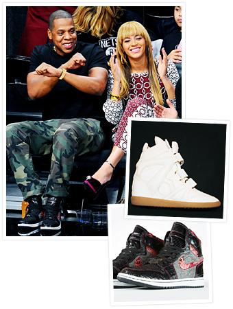 King Bey sneakers