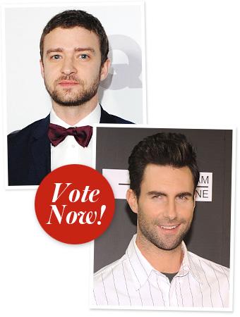 Justin Timberlake, Adam Levine