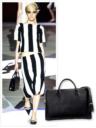 Zara black tote