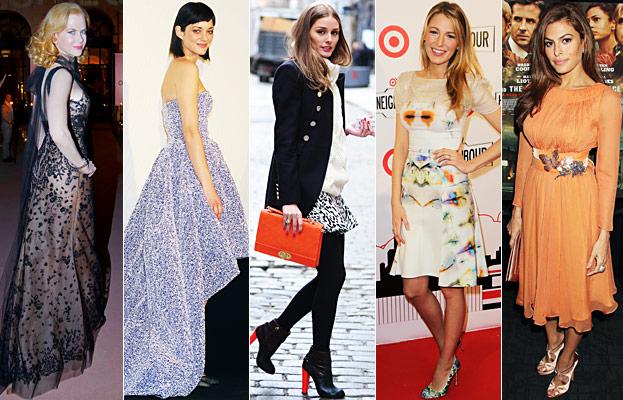 Nicole Kidman, Marion Cotillard, Olivia Palermo, Blake Lively, Eva Mendes