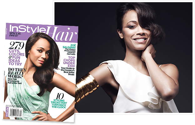 Zoe Saldana Hair Issue