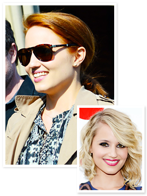 Dianna Agron Red Hair